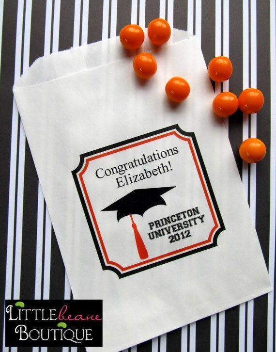 Graduation Candy Bags Graduation Party Graduation Favor