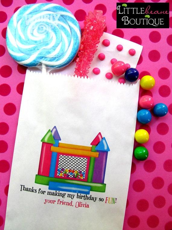 Bounce House Birthday Party,Bounce house Favor bags,Bounce house candy bags, Ball Pit Favor bags,ball pit favors, Birthday party,Treat bags