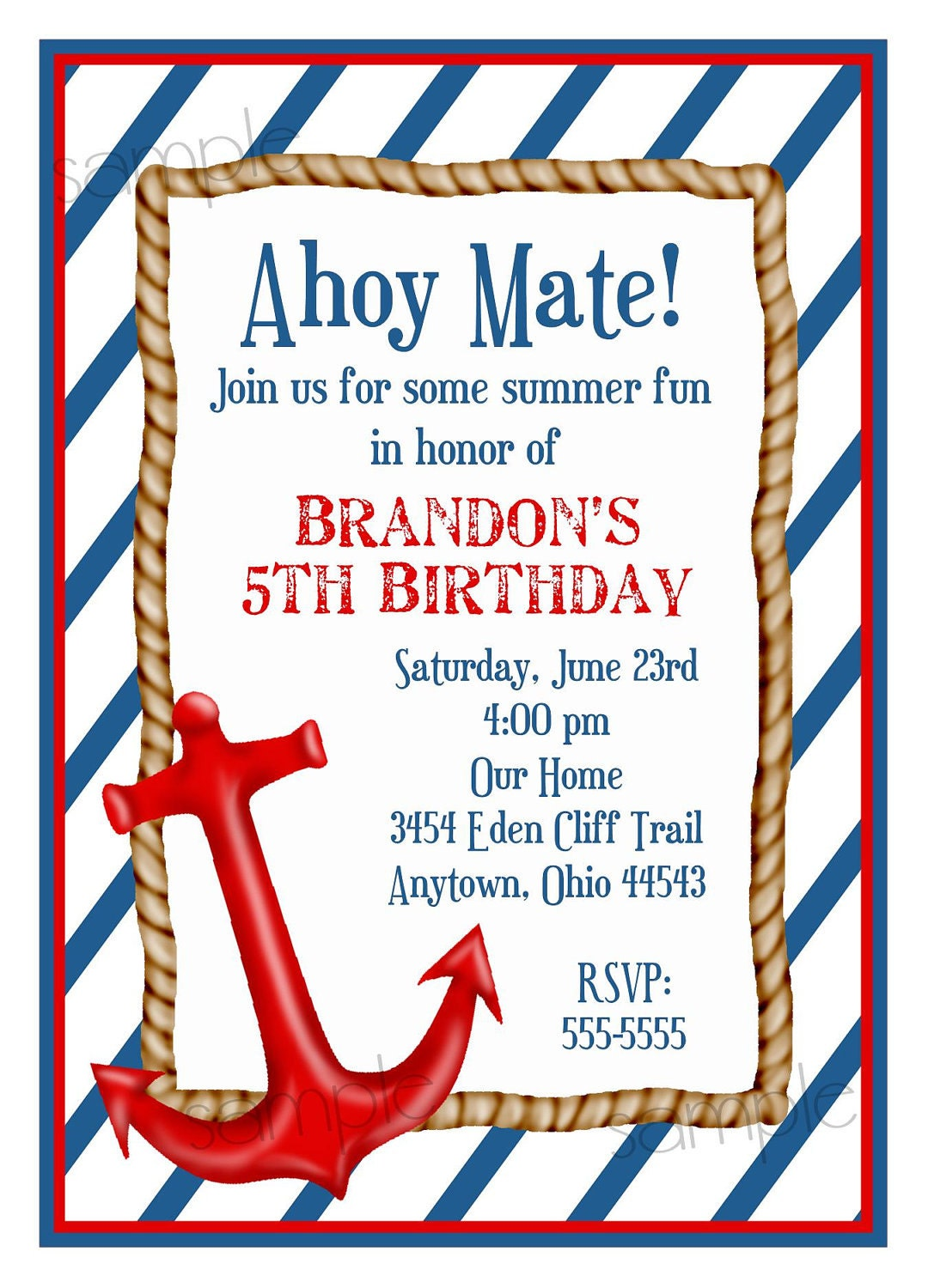 Sailor Baby Shower Invitations was adorable invitations layout