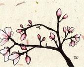 Magnolias no.2 (5x7 Signed Fine Art Print)