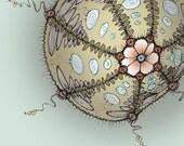 Sassy Sea Urchin - 8x8 fine art print