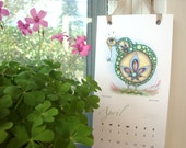 2012 Wall Calendar - The Creatures of Whimsy - Crazy cute and weird fine art print sampler