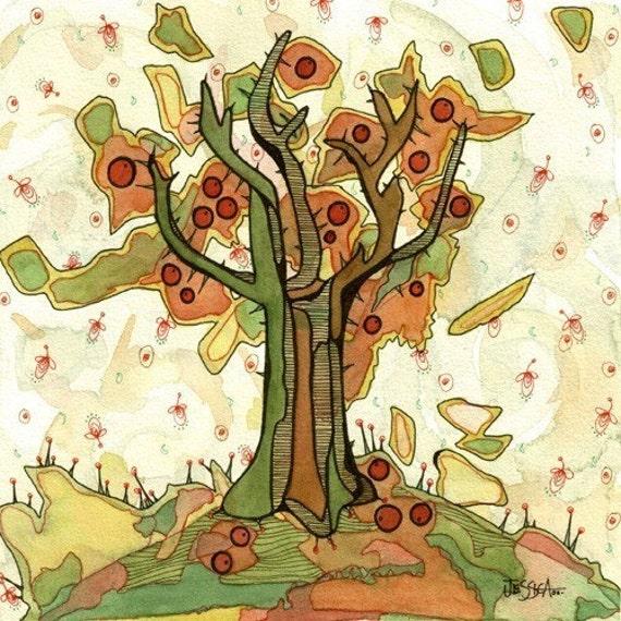 Fall Tree Print