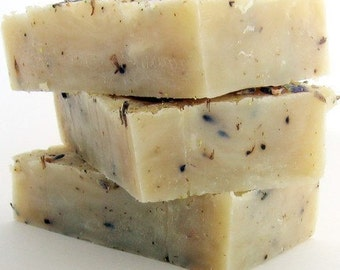 Fragrant Chamomile and Lavender Handmade Soap One Bar