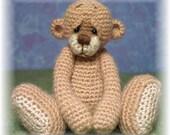 OOAK Thread Crochet Bear Pattern 1 by Jessica Lee's Little Creations
