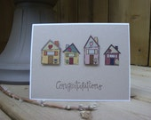 Congratulations on your new Home or Welcome to the Neighbourhood - Handmade Greeting Card