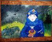 Loss of Innocence Art Quilt