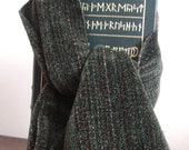 Lord of the Rings Green Rayon Chenille Scarf