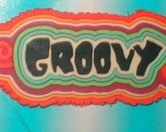 GROOVY -  Rubber Patch