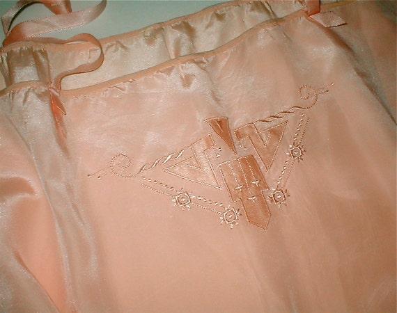 Oh Pink Silk Teddy - Vintage 1920's Lingerie