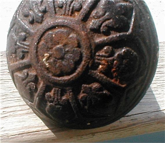 Antique 1900s Cast Iron Door Knob