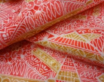 Japanese kimono  fabric panels