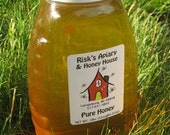 Honey, 1 lb of raw honey from mid-Michigan