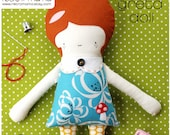 Girl Doll PDF Sewing Pattern - Instant Download