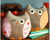 PDF Sewing Pattern Stella and Stewart Owl Softies Instant Download