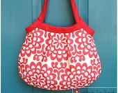 items similar to pleated granny bag pdf sewing pattern
