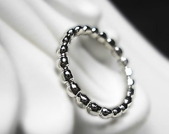 Platinum Ring - Beads of Platinum