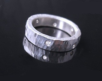 Stars -6 diamonds handmade to order in sizes 6 - 8