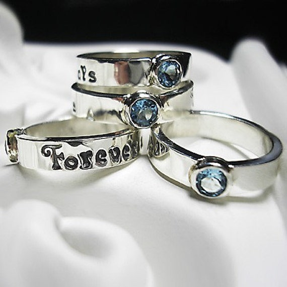 Design Your Own Ring: Design Your Own Gemstone Ring In RECYCLED By Beyondtherockz