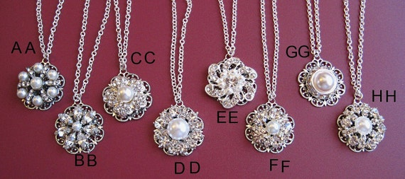 Reserved for Ashley, 20 Choices U pick, Wedding Jewelry for Bridemaids, Bridesmaids Gifts, Wedding Party gifts