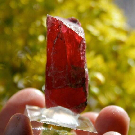 Rhodonite Gem Crystal Mineral