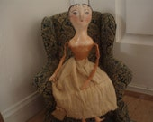 Cloth and Clay Doll OOAK etsyfolk EUC dollmakers on etsy