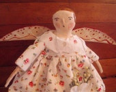 Folk Art Cloth And Clay AngeL    Etsy FoLk SALE