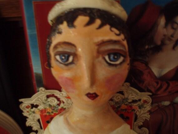 Valentine Angel FolK Art Doll reserved