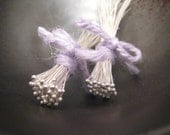 100 Fine Silver Balled Headpins - 24 gauge, 1.5-1.75 inches long - free domestic shipping
