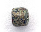 Reactivo-Dreadlock-Large Hole-Art Glass Focal Bead