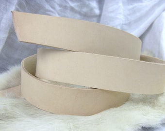 Natural Tooling Leather Strap 1.5 Wide DIY
