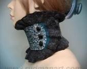 Felted scarf-collar My Ideal Choice