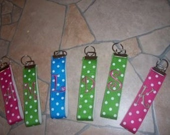 Key Chain Wristlet, Personalized
