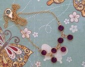 Lady Cora Necklace - Amethyst and Gold