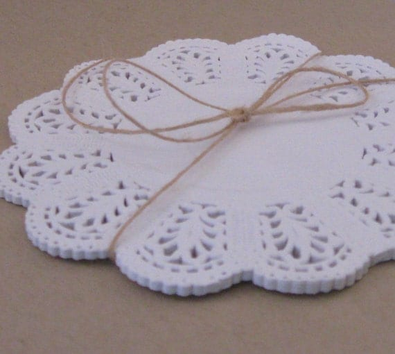 Lace Paper Doilies - 5 inch - Set of 50
