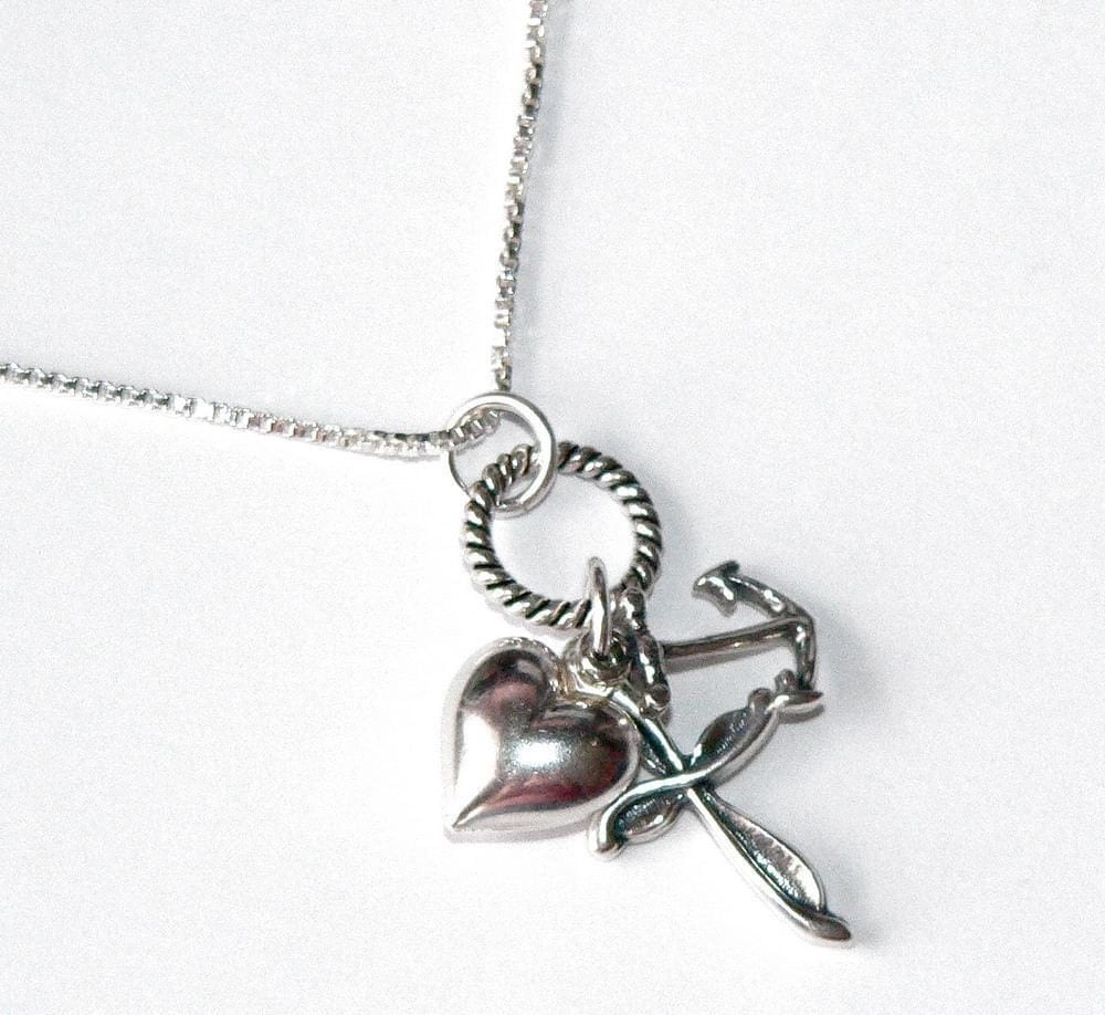 Faith hope love necklace by simplyuboutique on etsy for Faith hope love jewelry