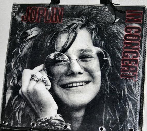 Janis Joplin Record Album Purse Tote Handbag