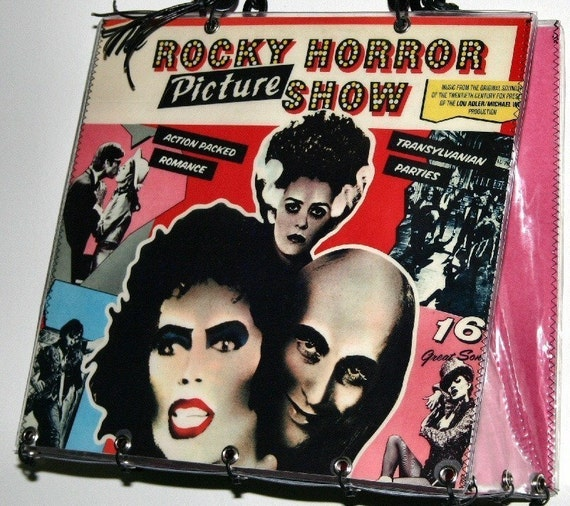 The Rocky Horror Picture Show Record Album Purse Handbag Tote