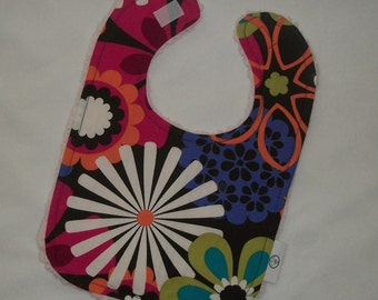 Flower Shower and Chenille Boutique Bib