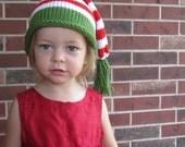 Organic Cotton Knit Elf Hat