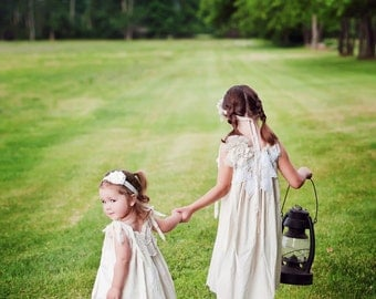 Victorian Cupcake Dress, Isabella, Flower Girl, Little Girls Dress