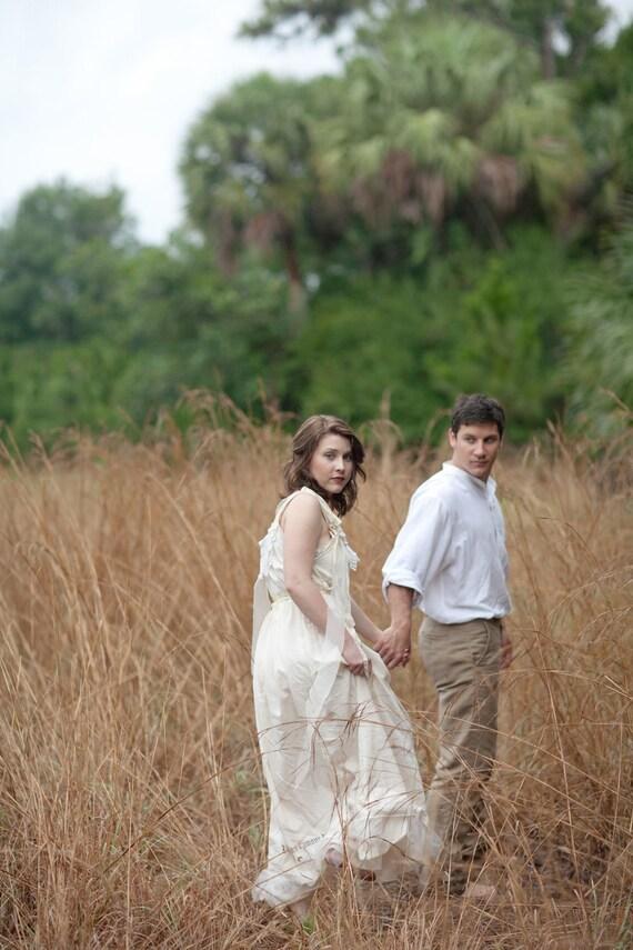 Items similar to woodland fairy victorian wedding dress for Woodland fairy wedding dress