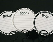 Scallop Note Journaling Spots