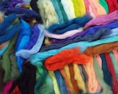 1 lb All Merino Wool Roving in Many Colors for Felting or Handspinning