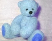 Kit-needlefelt teddybear - instructions, needles, foam and wool