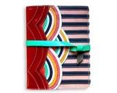 MADE TO ORDER Rainbow diary cover