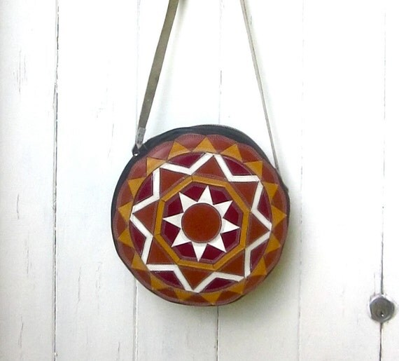 SALE- Moroccan Style leather bag- 30% OFF