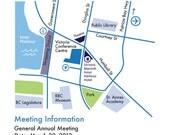 Custom designed Event Map Printable PDF