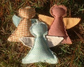 6 Angels of Second Chances Holiday Ornament Upcycled Buy 5 get 1 FREE