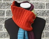 Retro Madness - Scarf of Many Sweaters OOAK